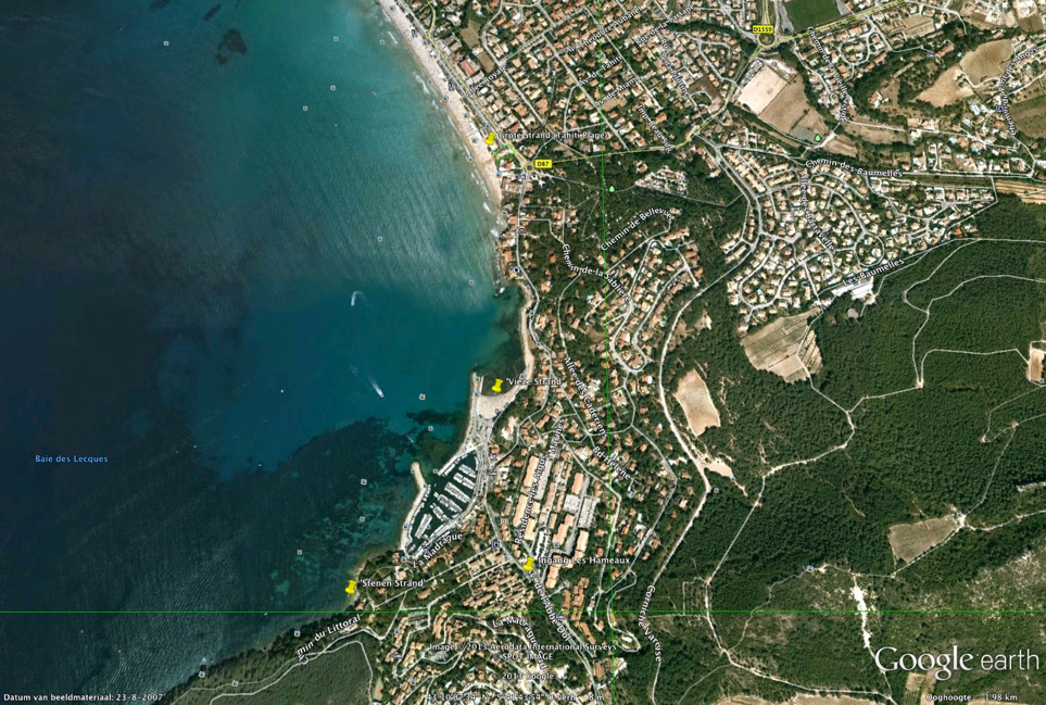 Vakantiehuis Zuid Frankrijk Maison Jansen La Madrague tussen Marseille en Toulon