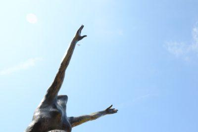Biot Cote d'Azur - Statue Kees Verkade