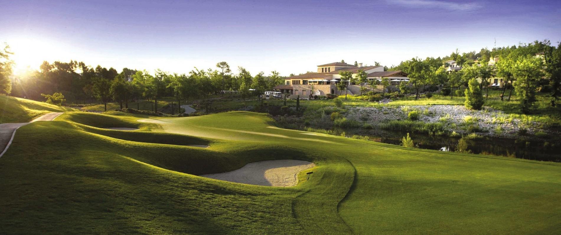Golfcourse Terre Blanche Hotel Spa Golf Resort Tourrettes