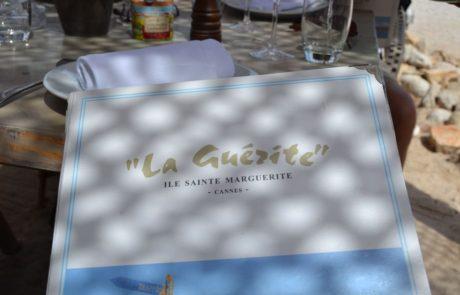 Ile de Sainte Marguerite Cannes - Restaurant La Guerite