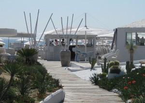 Les Palmiers St Tropez - luxe strandtent Pampelonne Beach