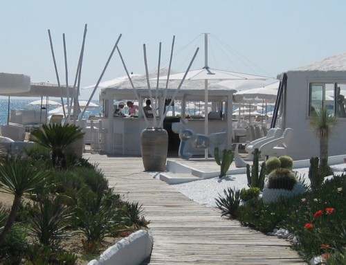 Beach Club Les Palmiers in St. Tropez