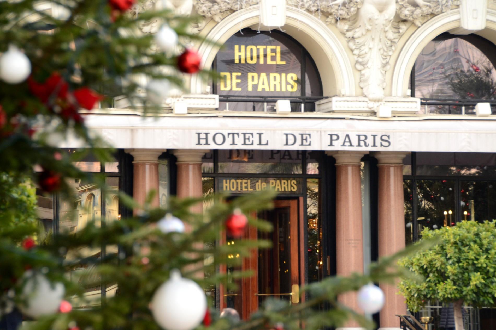 Monaco - Monte Carlo Hotel de Paris
