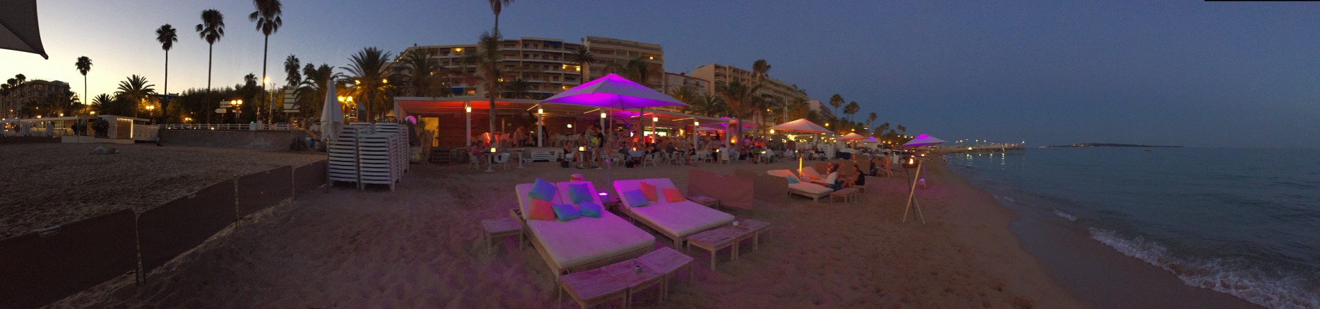 Restaurant Maema Beach Club, Beach club Cannes