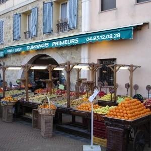 Valbonne Village Cote d'Azur greengrocer