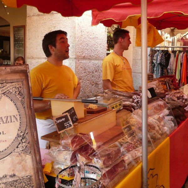 Valbonne Village Cote d'Azur vrijdag markt