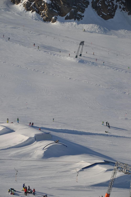 Funpark Kitzsteinhorn Kaprun gletsjer