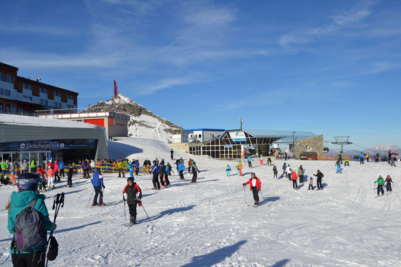 Kaprun Gletsjer Kitzsteinhorn