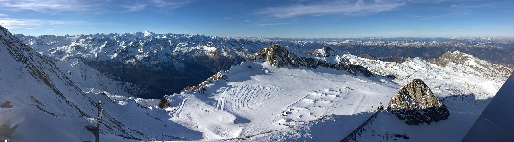 Kitzsteinhorn Kaprun - sneeuwzeker skieen
