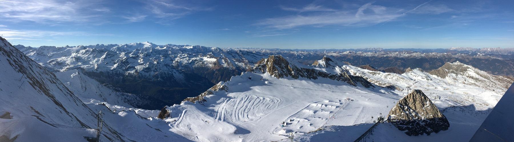 Sneeuwzeker Skiën op de Kitzsteinhorn