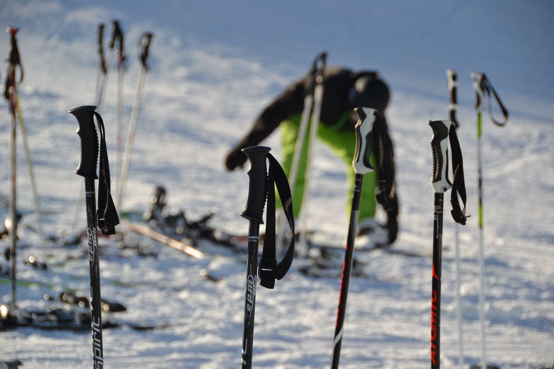 Skien Gletsjer Kaprun Oostenrijk