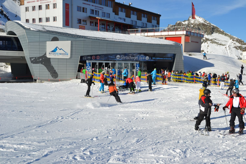 Skien Gletsjer Kitzsteinhorn Kaprun Oostenrijk