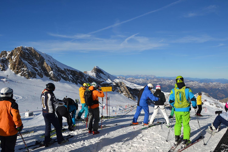 Skien Kaprun - Gletsjer skien