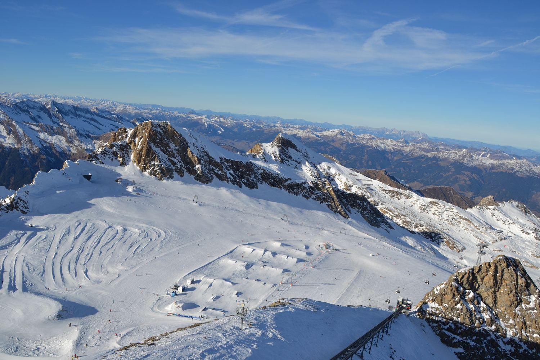 Snowboarding Kaprun - gletsjer Kitzsteinhorn