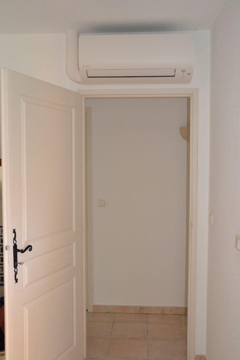 Airconditioning in slaapkamers Villa Valbonne