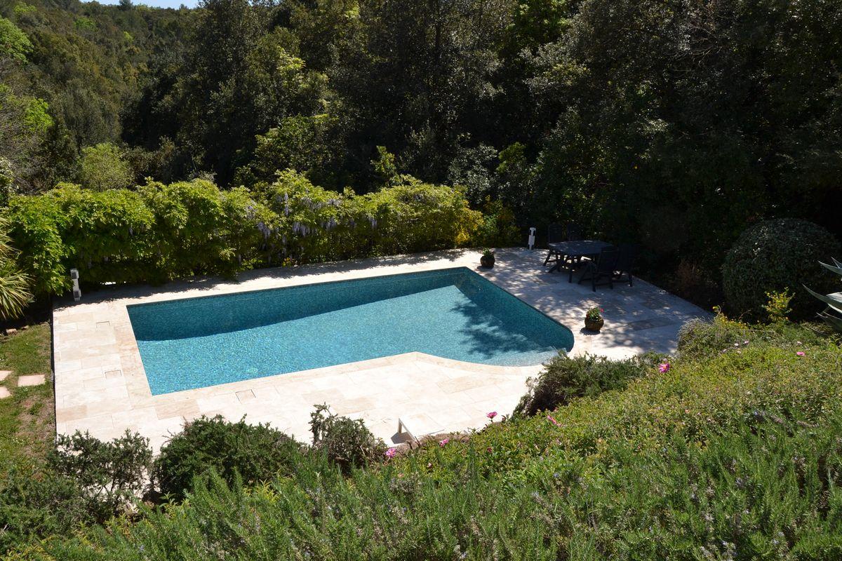 Luxe vakantiewoning met zwembad in Valbonne Zuid Frankrijk