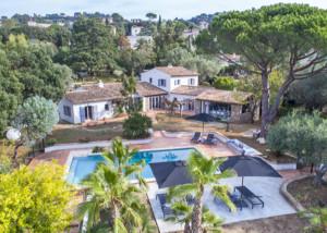 Luxe villa Croix Valmer - St Tropez Cote d'Azur - prive zwembad en airconditioning