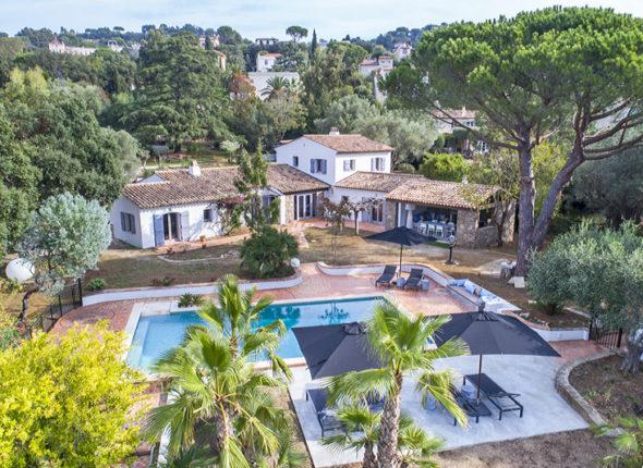 Luxurious holiday villa - La Croix Valmer - St Tropez - private pool sleeps 8