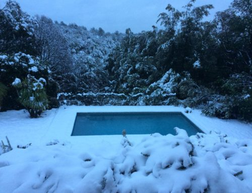 Winter in Valbonne – Extreme snow!