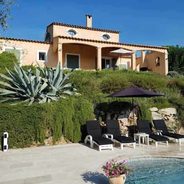 Vakantiehuis Cote d'Azur met Zwembad - Villa Valbonne