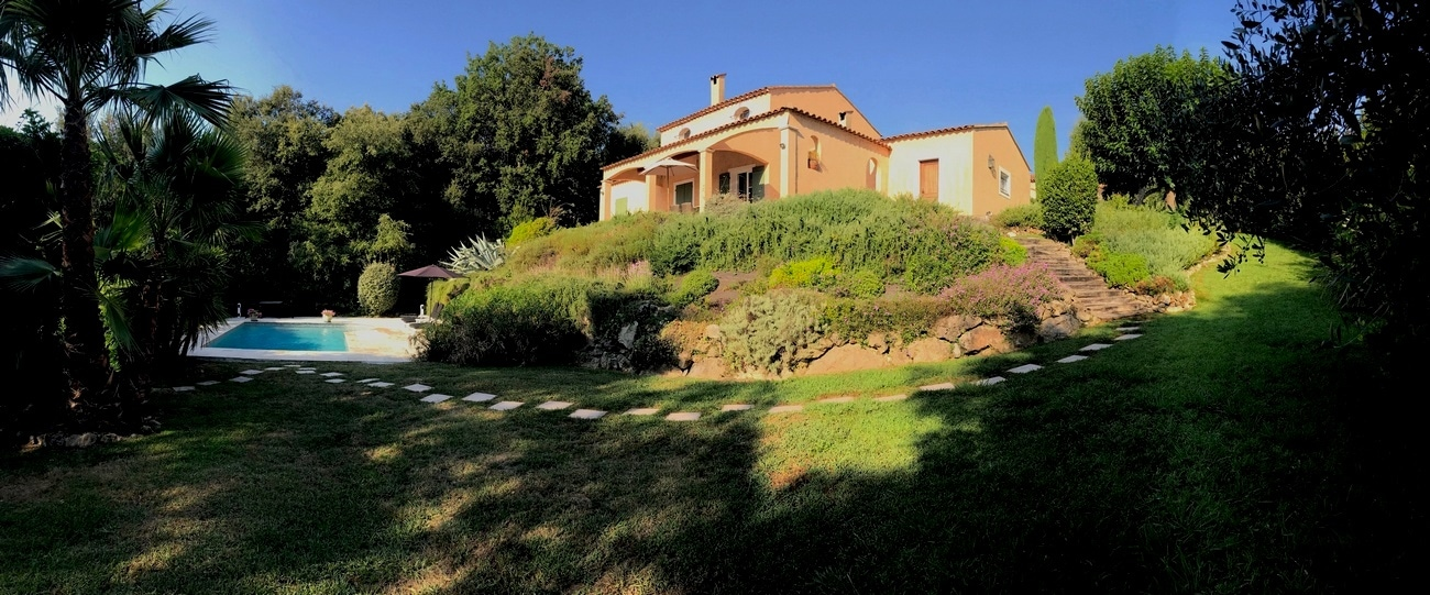 Holiday home - vacation rental Valbonne France with private pool