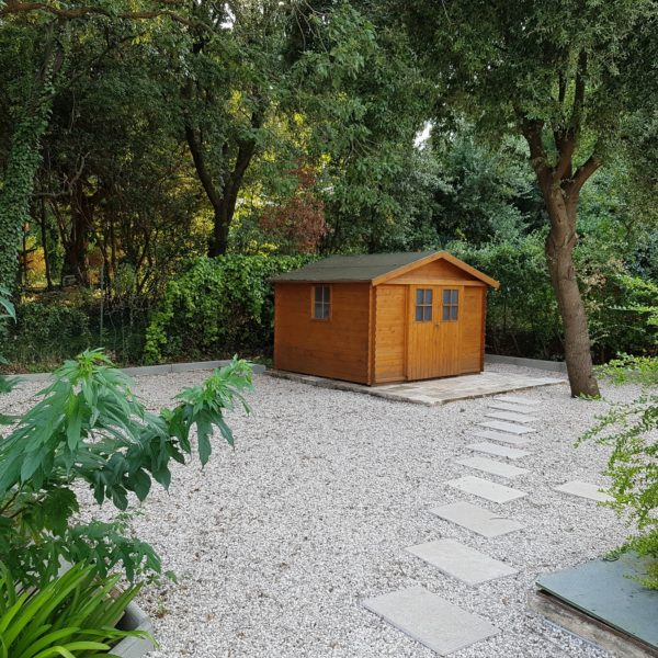 Garden shed Villa Valbonne Cote d'Azur - Holiday home South of France