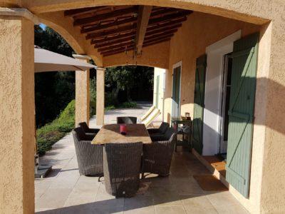 Verranda Overdekt Terras Villa Valbonne Cote D Azur
