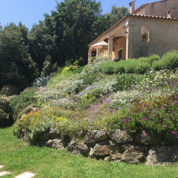 Holiday rental South France with swimming pool - Villa Valbonne