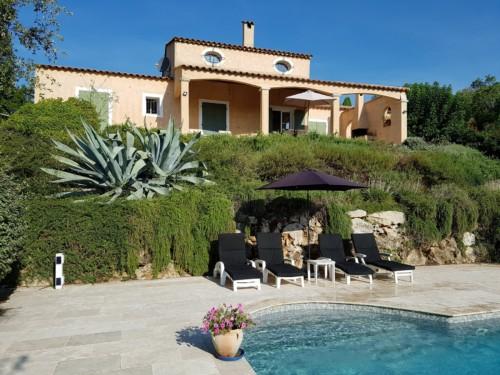 Villa rent Valbonne French Riviera - private pool