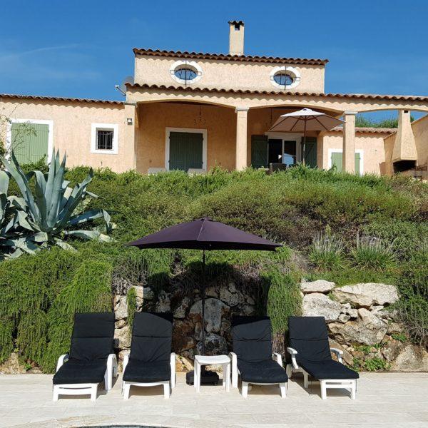 Vakantiehuis huren Zuid Frankrijk met zwembad - Villa Valbonne