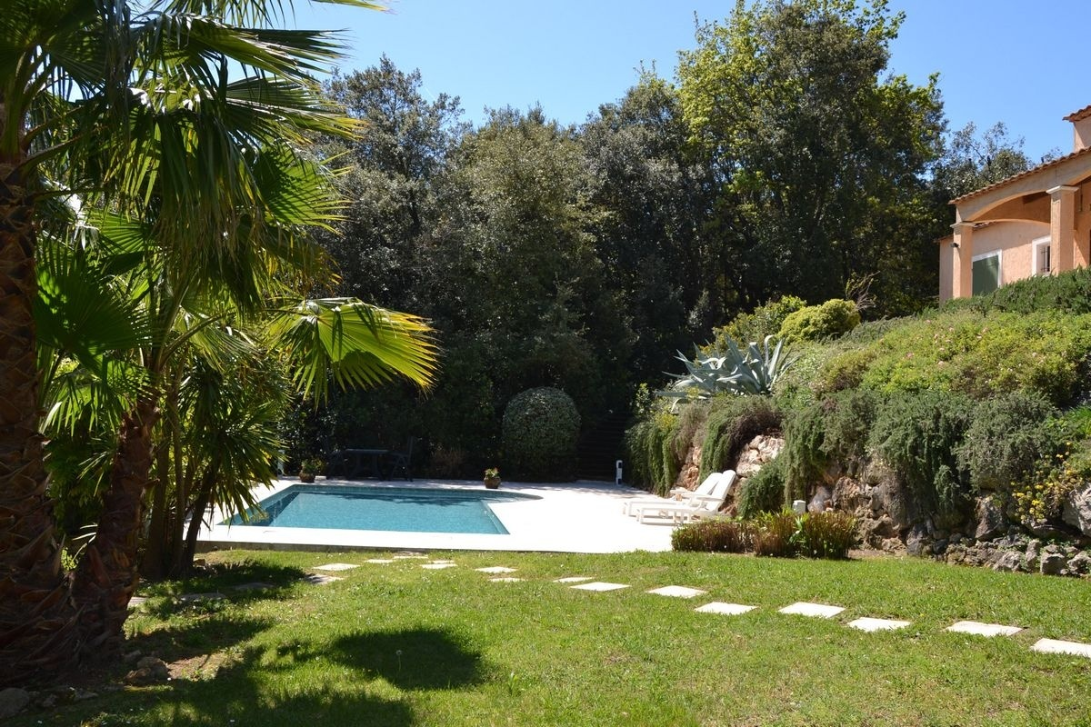 Rent from private owner Villa with pool Valbonne