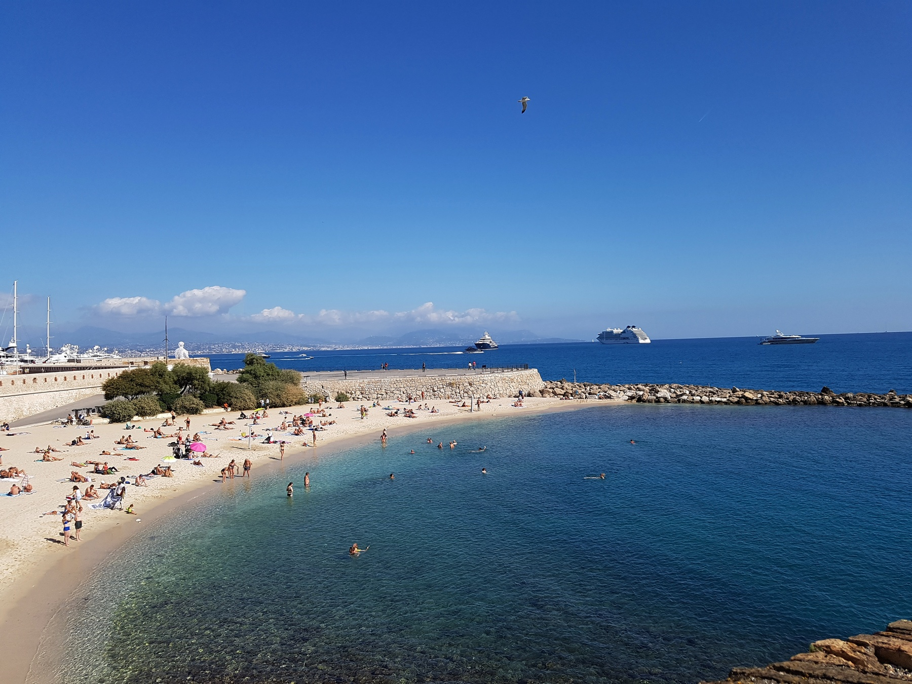 Beach (sand) Antibes South of France
