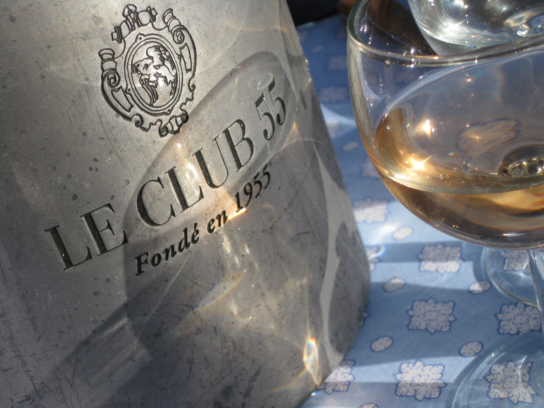 Club 55 St Tropez Ramatuelle lunch