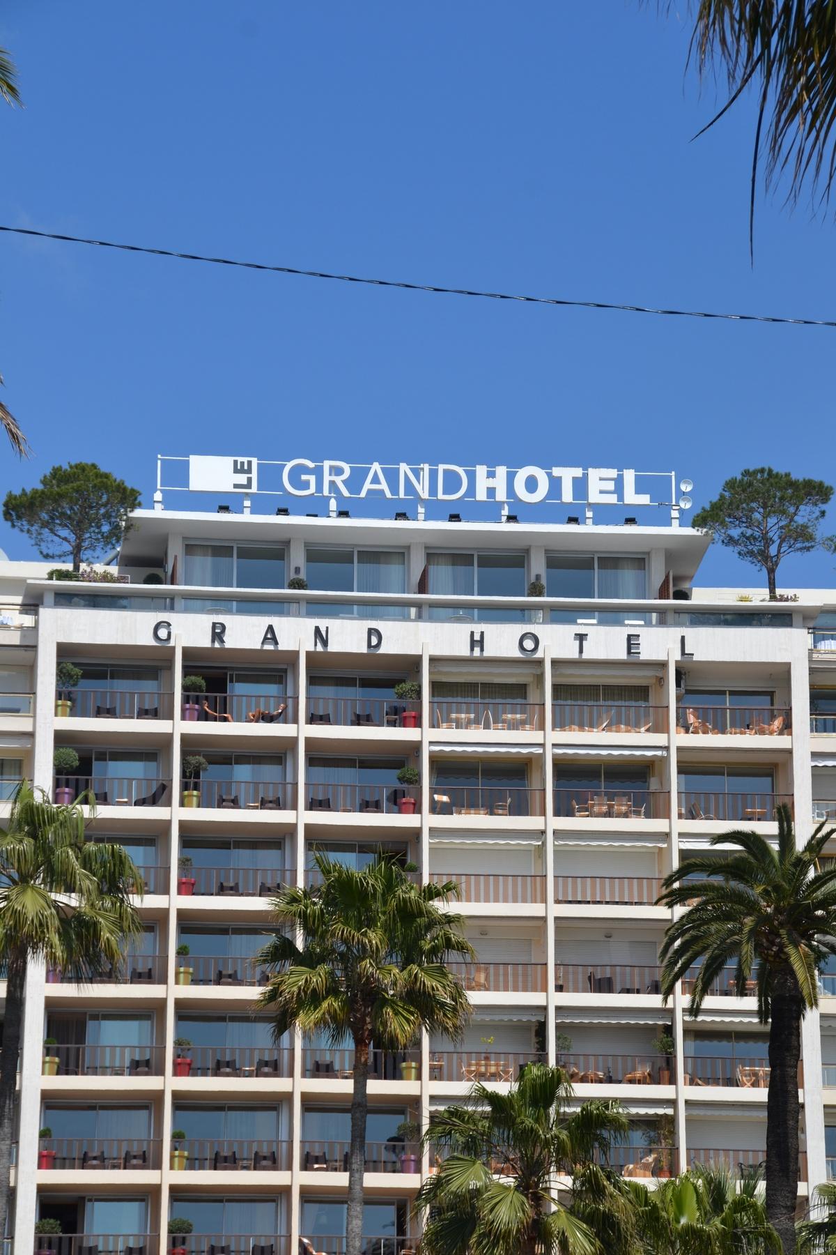Le Grand Hotel Cannes Côte d'Azur