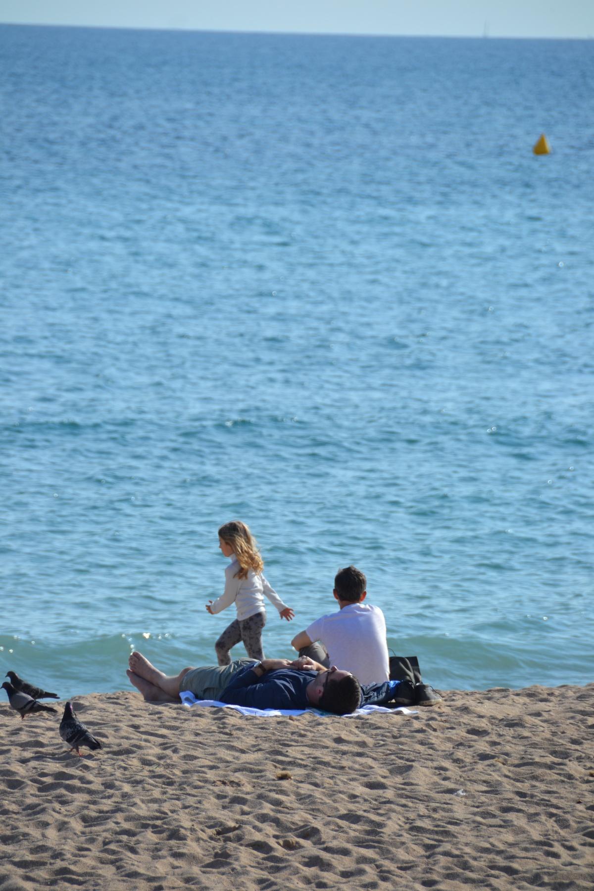 Zandstrand Cannes Côte d'Azur