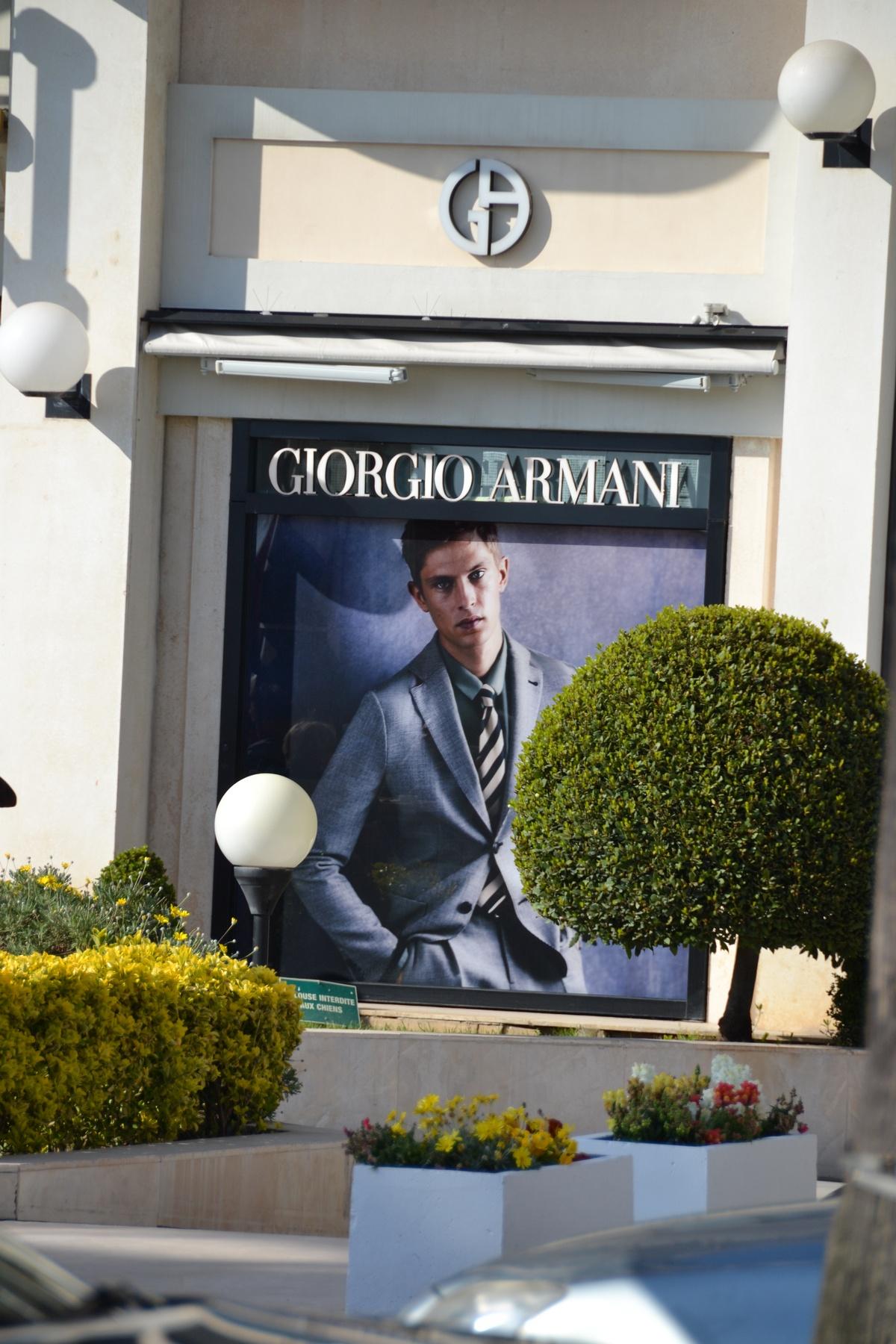 Giorgio Armani Croisette Cannes
