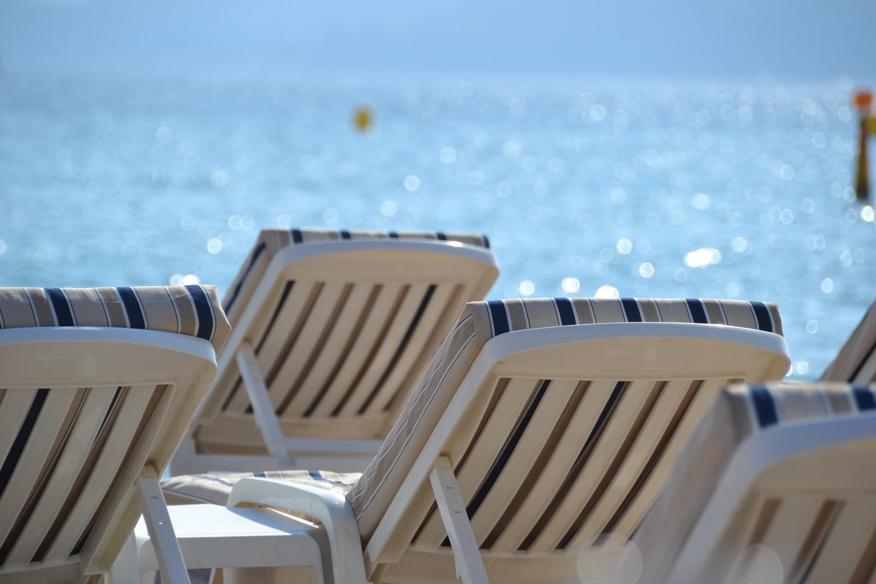 Croisette Strand Cannes