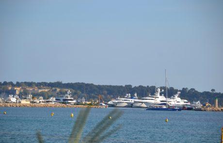Jachten in Cannes Côte d'Azur