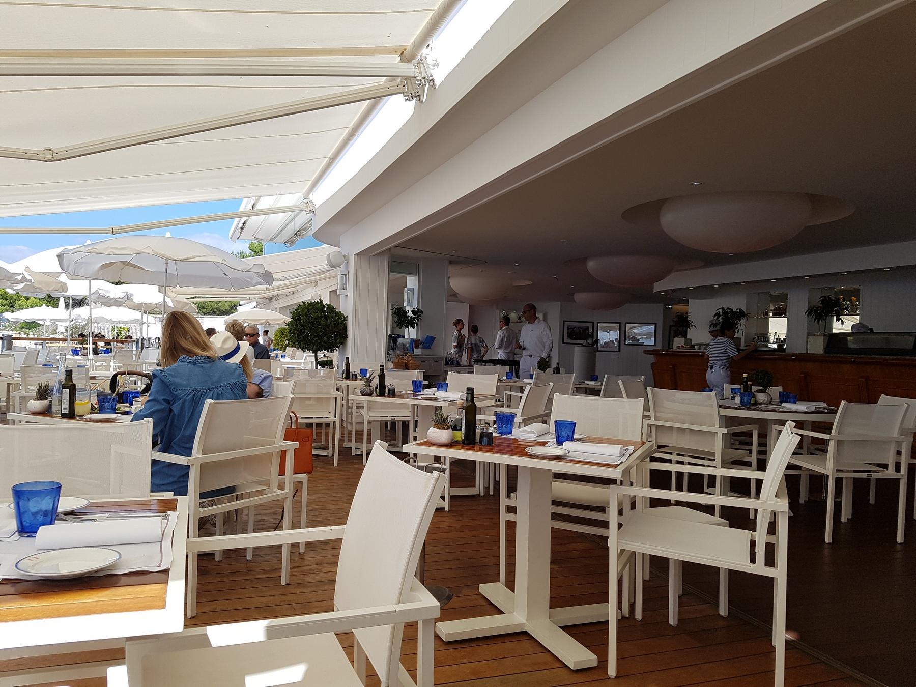 Eden Roc Grill Restaurant Antibes