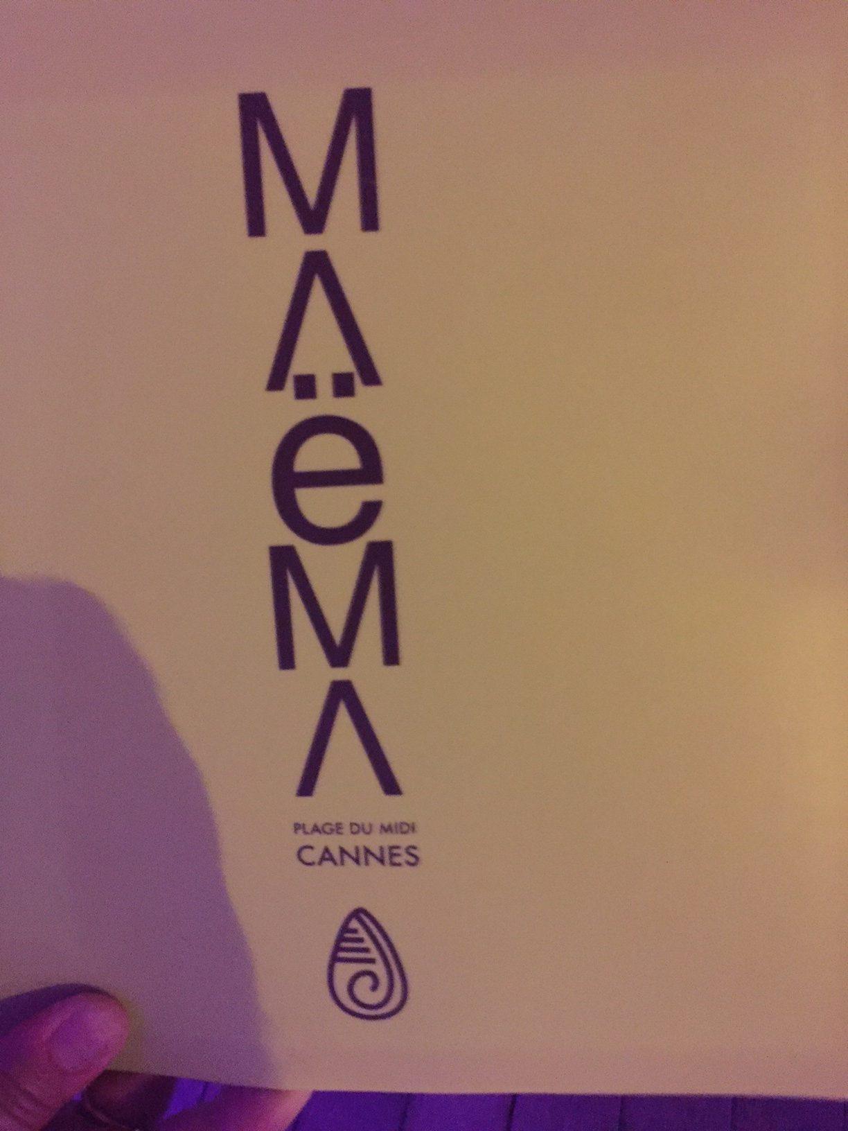Restaurant Beachclub Maema Cannes