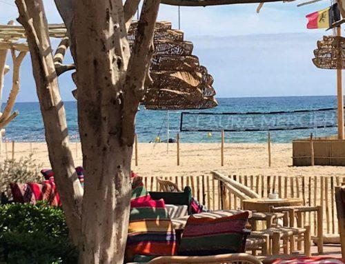 Beach restaurant Cabane Bambou – Ramatuelle St Tropez