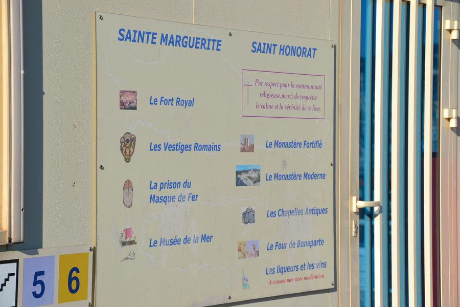 Ferry Ile Sainte Marguerite - Lerins Islands Cannes