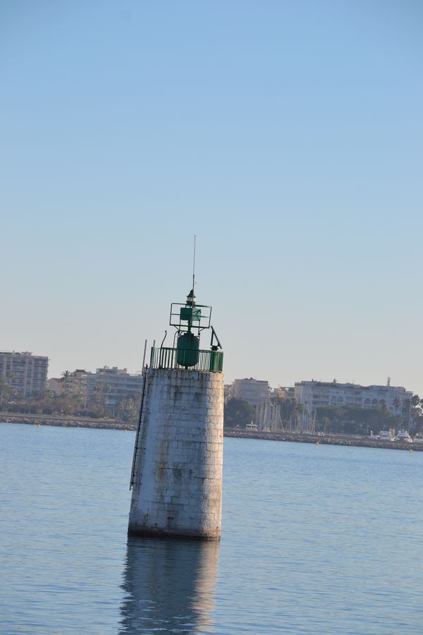 Cannes Lighthouse - ferry departure point to Ile Sainte Marguerite