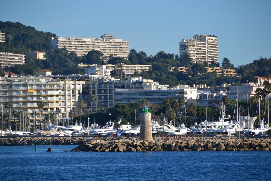View from Ile Sainte Marguerite - Lerins Islands Cannes