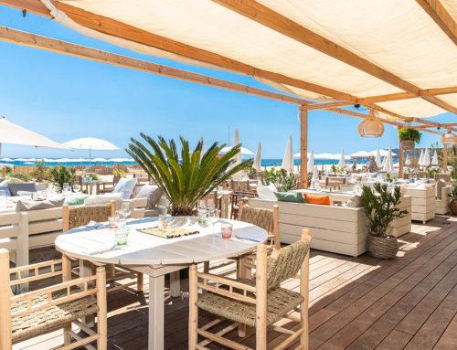 Plage restaurant l'Orangerie Ramatuelle
