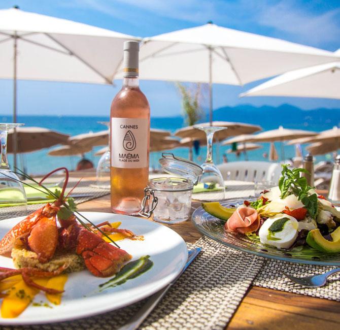 Restaurant Maema Plage Plage Midi Cannes