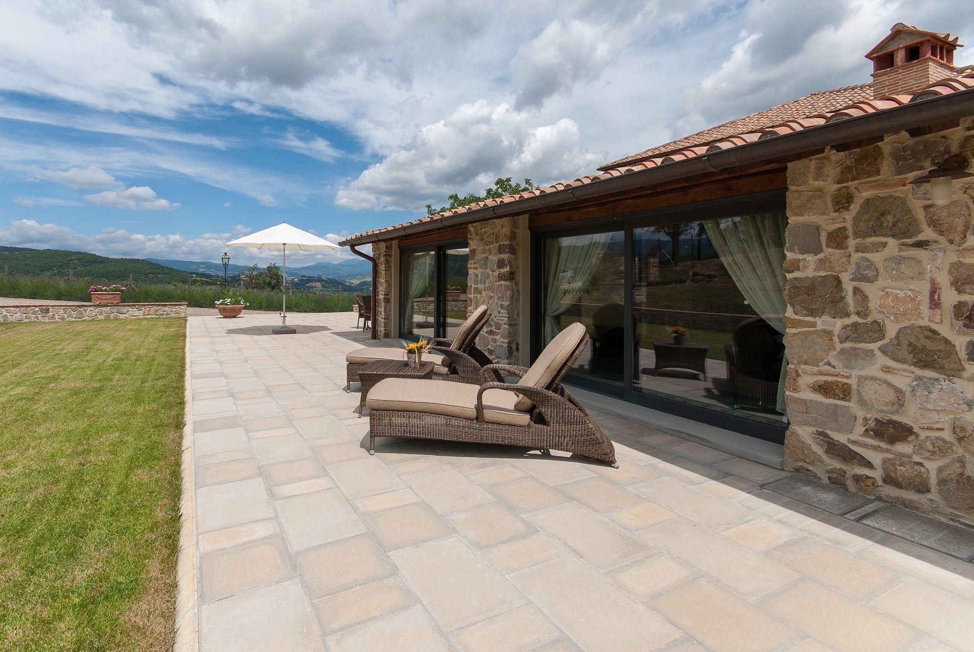 Toscane vakantiehuis met zwembad - Villa Borgo La Casa