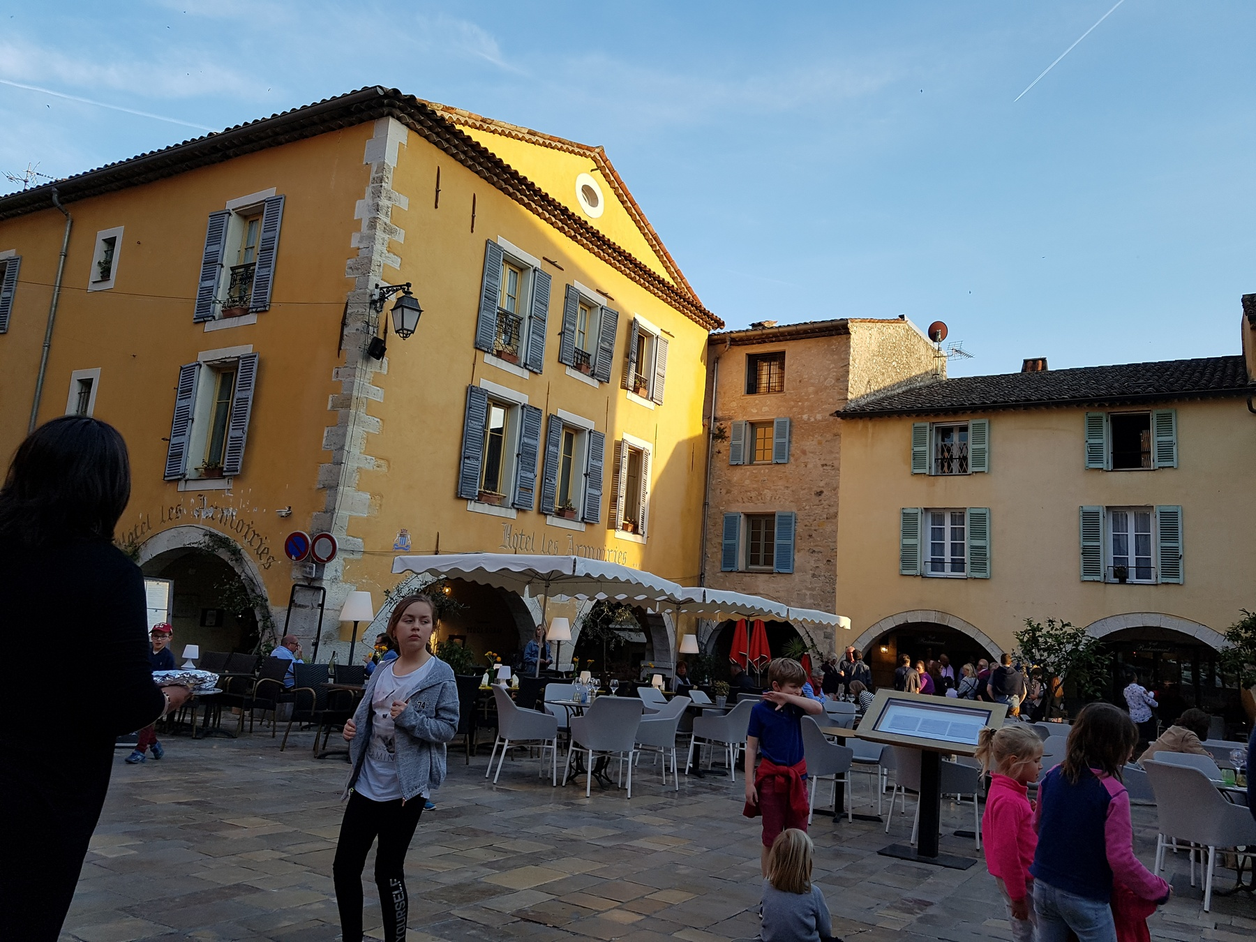 Restaurants centrum Valbonne