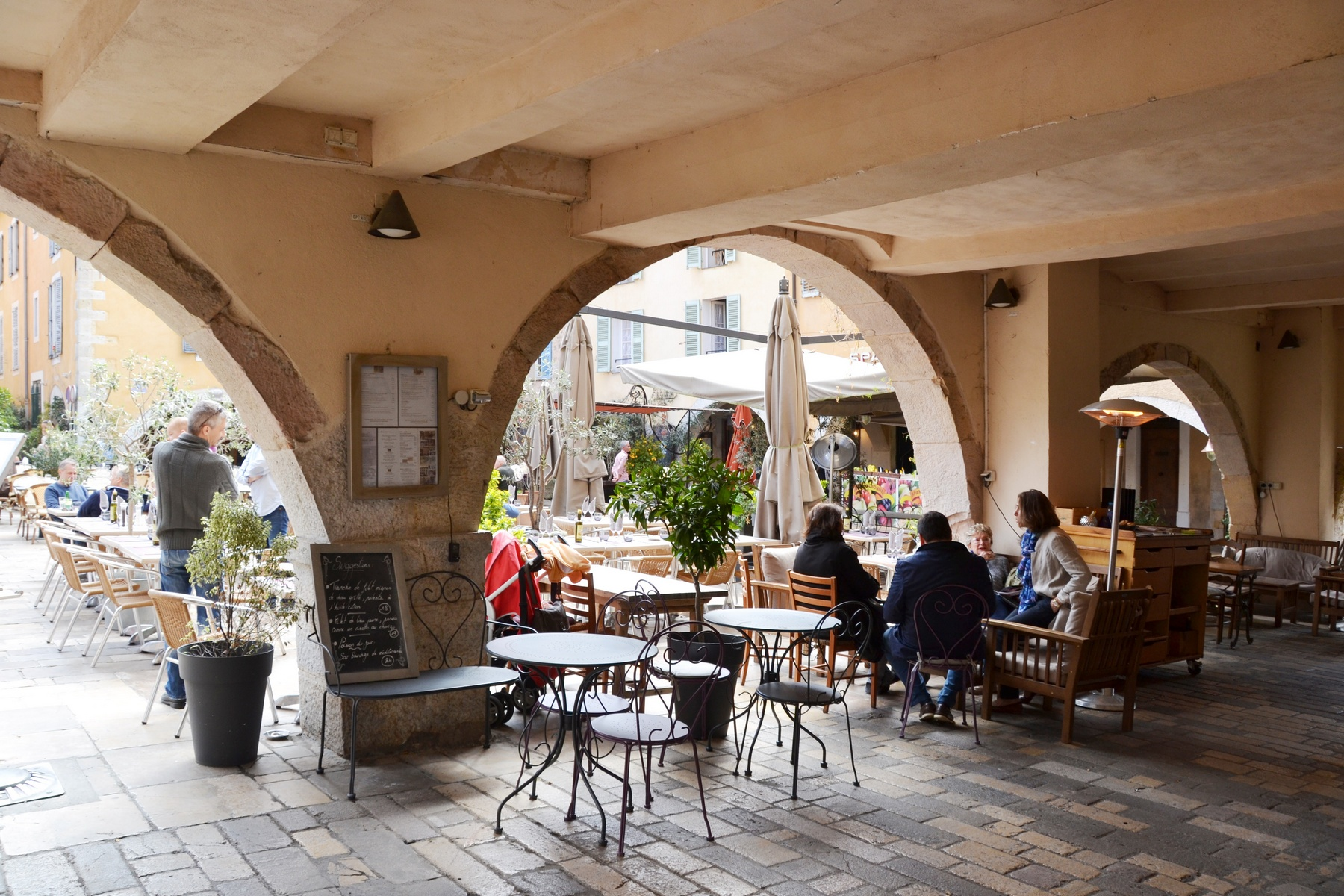 Restaurants Valbonne Village