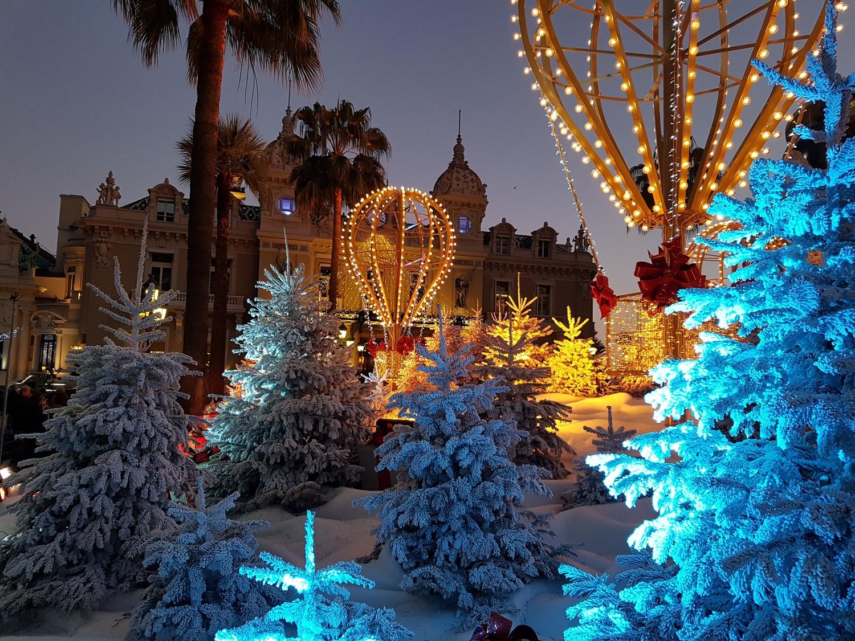 Kerst in Monaco 2019